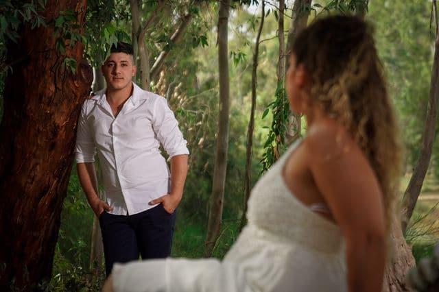 צילום הכנות לחתונה